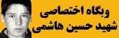 وبگاه اختصاصی شهید حسین هاشمی بنی
